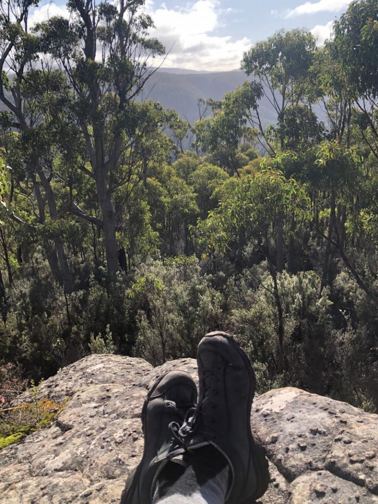 Boots on the summit: Katherine Marden